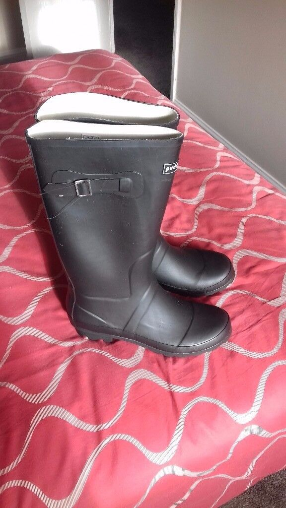Brand new Puddlduc size 43 Wellies