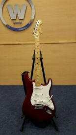 Fender Stratocaster c/w Hard Shell Case Serial Number MX12222900 For Auction