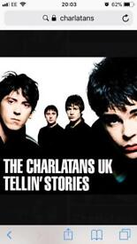 The Charlatans tickets cardiff x4