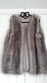 ****LOVELY NEW FUR GILET ****
