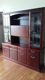 Large dresser / sideboard in mahogany