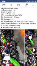 Kawasaki 450 fast bike (type r sierra quad ltz banshee kart lexus is200 drift )