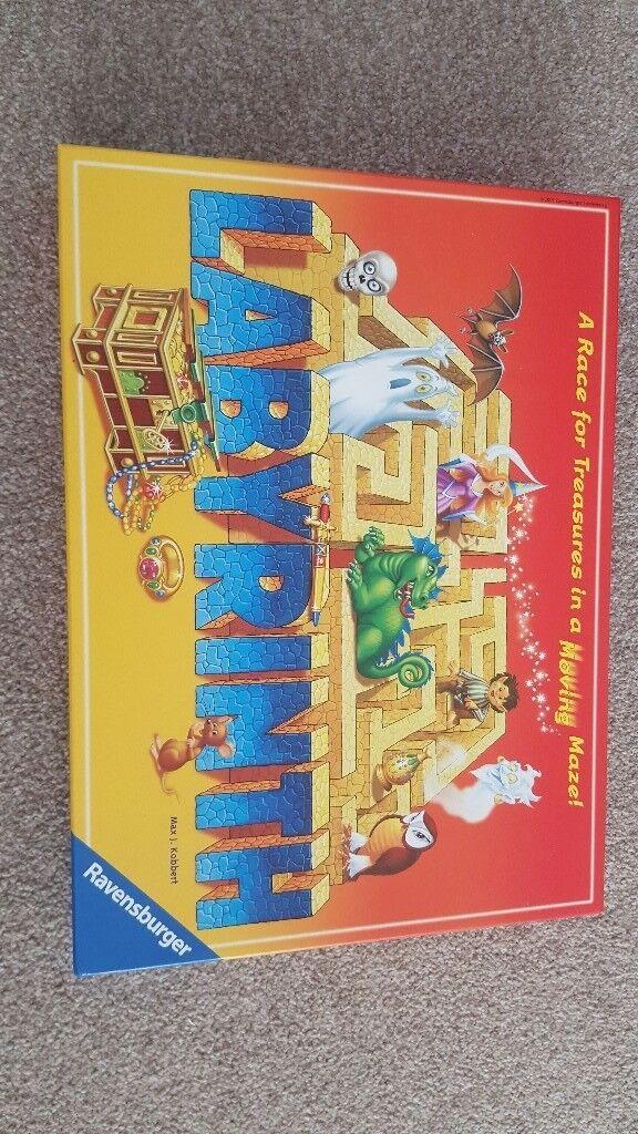 LABYRINTH board game , like new £5
