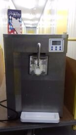 Commercial icecream machine display fridge Glass washer