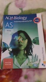 AQA AS Level Biology