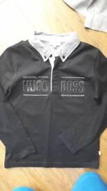 hugo boss long sleeve top