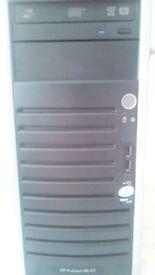 HP Desktop/Server Mini Tower Intel Xeon Quad-Core Base Unit