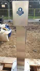 Edwards PL12 stainless steel Plinth Standpipe. £75