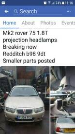 Mk2 rover 75 1.8 turbo breaking now