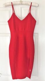 Bandage dress (RED) Dress size UK 8