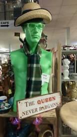 Green mannequin
