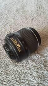 Nikon DX 18-55mm 1:3.5-5.6 zoom lens