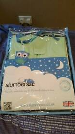 Slumbersac baby sleeping bag 1 tog summer brand new