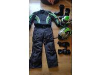 Full all weather bike gear