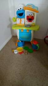 Sesame street toy kitchen
