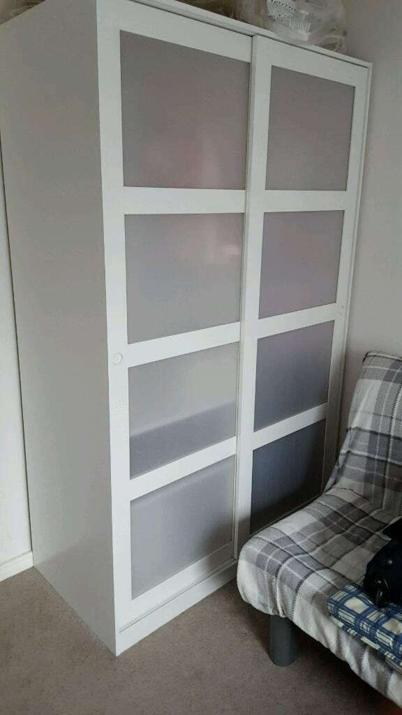 Kvikne Wardrobe With 2 Sliding Doors Full Size Bed