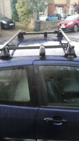 Ford Focus Roof Bars. Suitable for 3 door also