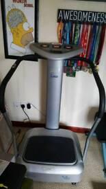 Carl Lewis Fibro Exerciser/Power plate Excellent condition