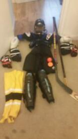 Roller hockey kit
