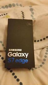 Samsung Galaxy Edge S7, black 32 gb