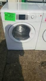 BEKO 8KG LOAD 1300 SPIN WASHING MACHINE IN WHITE