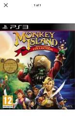 Wanted PS3 Monkey Island