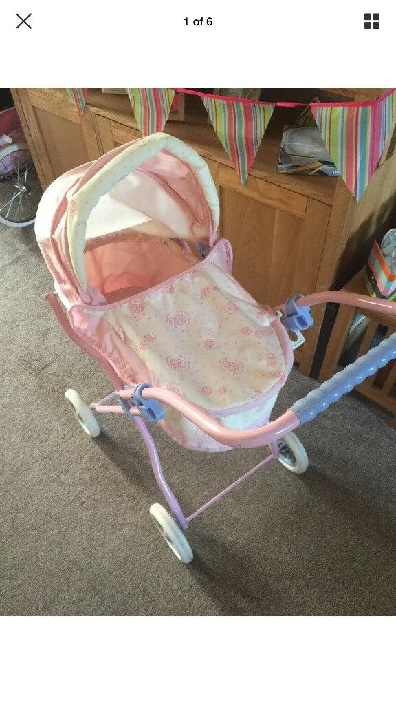 Baby Annabell Pram and Highchair