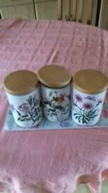 Port Merrion storage jars