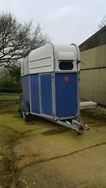 Richardson supreme advanced horse trailer 2x 16.0hh