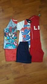 Boys pyjamas age 5-6 years