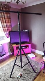 Lighting pole stand t bar very sturdy