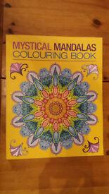Mystical Mandalas Colouring Book