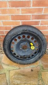 Vauxhall Astra space saver spare wheel (free to collect)