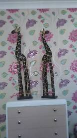 Giraffes arts and craft