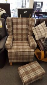 Brand New Wing Chair - Various Colours Available