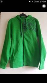Green Adidas Hoodie Zipper
