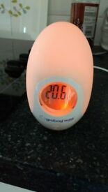 BABY SAFETY THERMOMETER GRO BAG EGG - GLO EGG ONLY £5.00