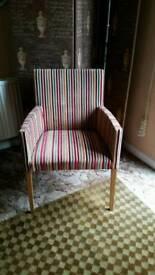 John Lewis Striped Chair