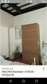 Ikea pax 2 double wardrobe need gone