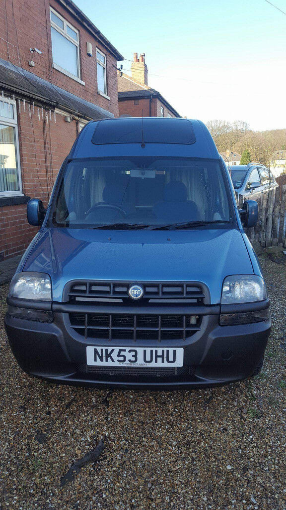 Fiat Doblo High Roof Diesel In Chapel Allerton West