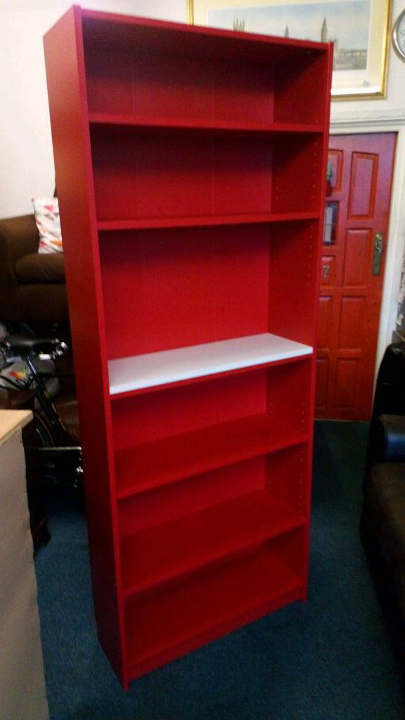 Ikea bookcase come display unit