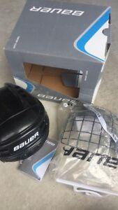 Bauer junior hockey  skating kids children helmet sports