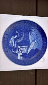 Royal Copenhagen Porcelain Christmas Plate