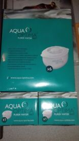 Aqua Optima White Galia Water Filter catridges x8