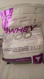 Treck nutrition protein powder whey100 2275g