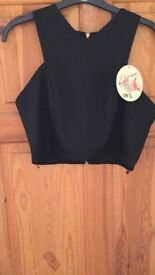 Women's crop top brand new with tags