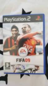 Ps2 game fifa 09