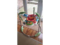 Jumperoo Fisher Price Rainforest baby bouncer