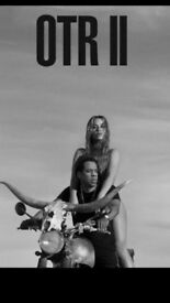 2 x Tickets for Beyonce & Jay z seated.Cardiff