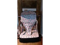 Baby Polar Gear booster seat / travel high chair